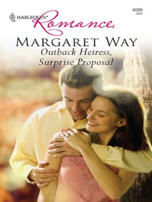 cover image of Outback Heiress, Surprise Proposal