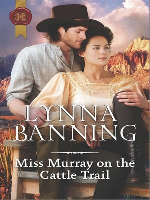 cover image of Miss Murray on the Cattle Trail