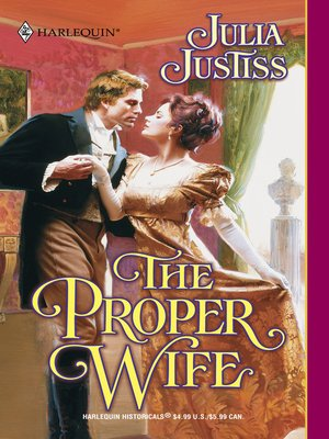 cover image of The Proper Wife