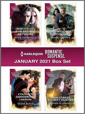 cover image of Harlequin Romantic Suspense January 2021 Box Set