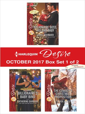 cover image of Harlequin Desire October 2017--Box Set 1 of 2