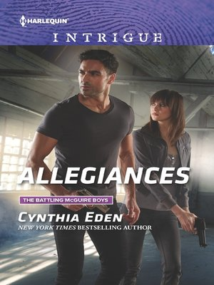 cover image of Allegiances--A thrilling romantic suspense