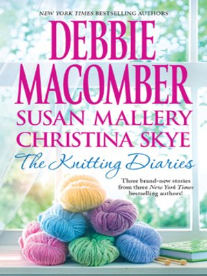 cover image of The Knitting Diaries