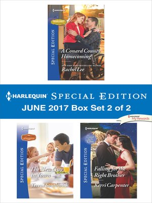 cover image of Harlequin Special Edition June 2017 Box Set 2 of 2