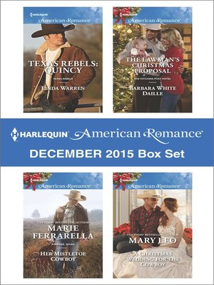 cover image of Harlequin American Romance December 2015 Box Set