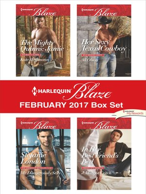 cover image of Harlequin Blaze February 2017 Box Set