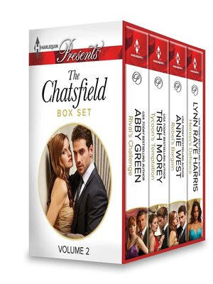 cover image of The Chatsfield Box Set Volume 2: Rival's Challenge\Tycoon's Temptation\Rebel's Bargain\Heiress's Defiance