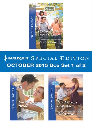 cover image of Harlequin Special Edition October 2015, Box Set 1 of 2