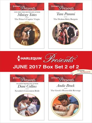 cover image of Harlequin Presents June 2017, Box Set 2 of 2