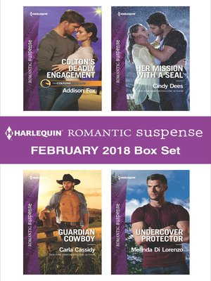 cover image of Harlequin Romantic Suspense February 2018 Box Set