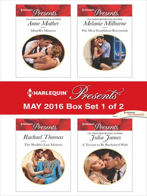 cover image of Harlequin Presents May 2016, Box Set 1 of 2