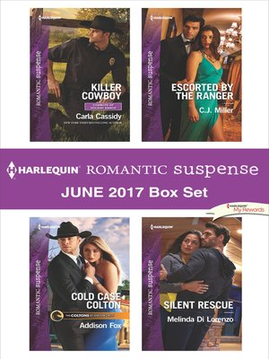 cover image of Harlequin Romantic Suspense June 2017 Box Set