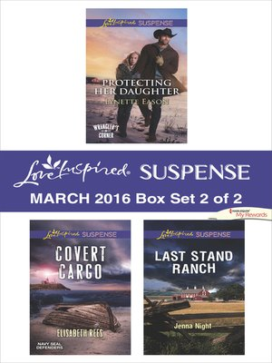 cover image of Love Inspired Suspense March 2016--Box Set 2 of 2