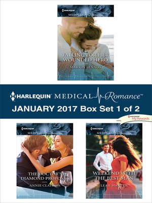 cover image of Harlequin Medical Romance January 2017--Box Set 1 of 2