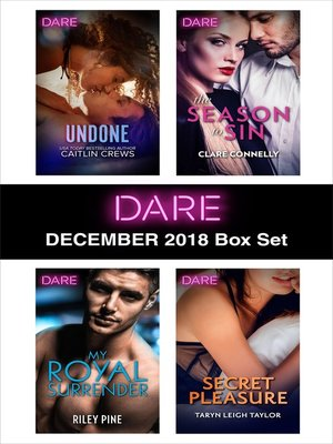 cover image of Harlequin Dare December 2018 Box Set
