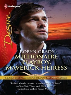 cover image of Millionaire Playboy, Maverick Heiress