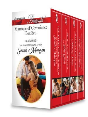 cover image of Marriage of Convenience Box Set: Bride in a Gilded Cage\Too Proud to Be Bought\Marriage Made on Paper\Too Proud to Be Bought