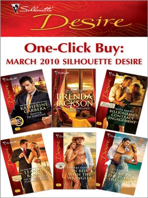 cover image of One-Click Buy: March 2010 Silhouette Desire