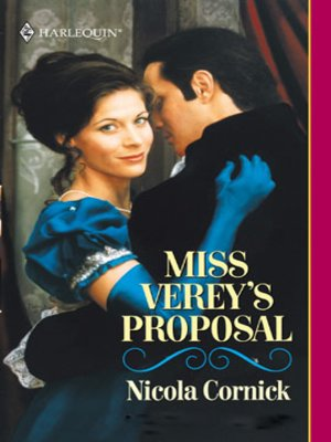cover image of Miss Verey's Proposal