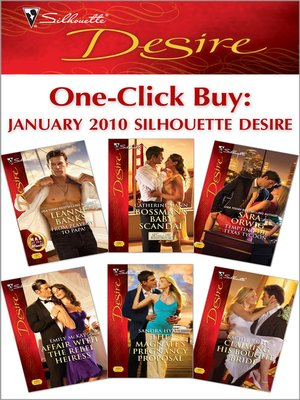 cover image of One-Click Buy: January 2010  Silhouette Desire