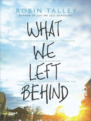 cover image of What We Left Behind