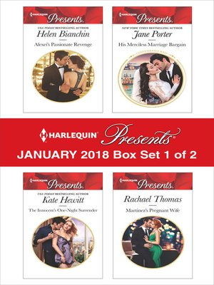 cover image of Harlequin Presents January 2018--Box Set 1 of 2