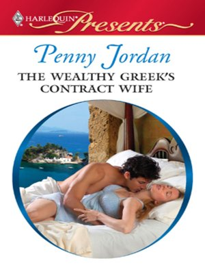 cover image of The Wealthy Greek's Contract Wife