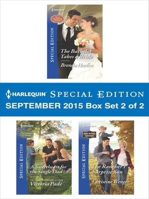 cover image of Harlequin Special Edition September 2015--Box Set 2 of 2