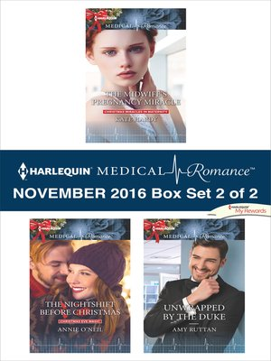 cover image of Harlequin Medical Romance November 2016, Box Set 2 of 2