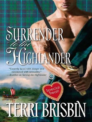 cover image of Surrender to the Highlander