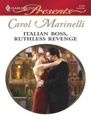 cover image of Italian Boss, Ruthless Revenge