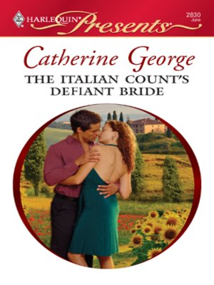 cover image of The Italian Count's Defiant Bride