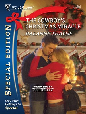 cover image of The Cowboy's Christmas Miracle