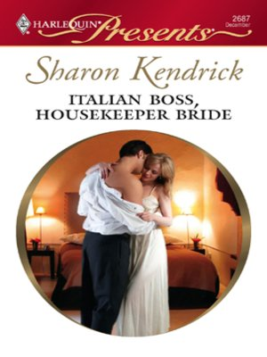 cover image of Italian Boss, Housekeeper Bride