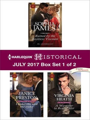 cover image of Harlequin Historical July 2017, Box Set 1 of 2