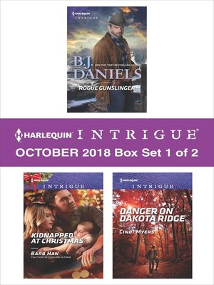 cover image of Harlequin Intrigue October 2018--Box Set 1 of 2