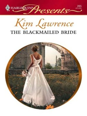 cover image of The Blackmailed Bride