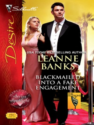 cover image of Blackmailed Into a Fake Engagement