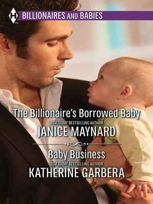 cover image of The Billionaire's Borrowed Baby & Baby Business