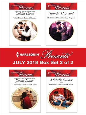 cover image of Harlequin Presents July 2018--Box Set 2 of 2
