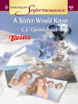 cover image of A Sister Would Know