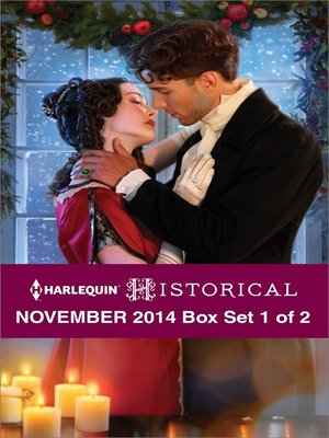 cover image of Harlequin Historical November 2014 - Box Set 1 of 2: The Christmas Duchess\Russian Winter Nights\A Shocking Proposition\The Wrong Cowboy\Rescued by the Viscount