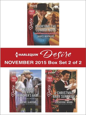 cover image of Harlequin Desire November 2015, Box Set 2 of 2