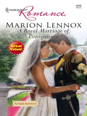 cover image of A Royal Marriage of Convenience