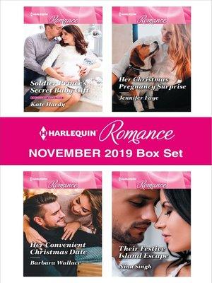 cover image of Harlequin Romance November 2019 Box Set