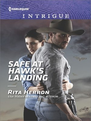 cover image of Safe at Hawk's Landing--A Thrilling FBI Romance