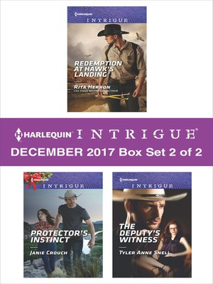 cover image of Harlequin Intrigue Decemeber 2017--Box Set 2 of 2