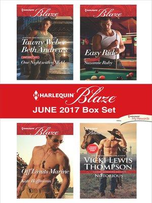 cover image of Harlequin Blaze June 2017 Box Set