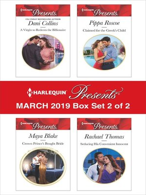 cover image of Harlequin Presents--March 2019--Box Set 2 of 2