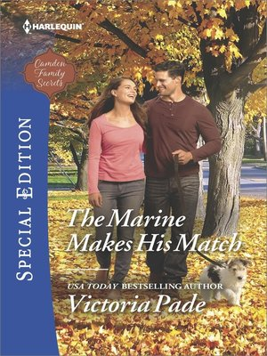 cover image of The Marine Makes His Match